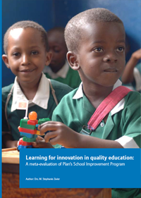 Cover - Learning for innovation in quality education