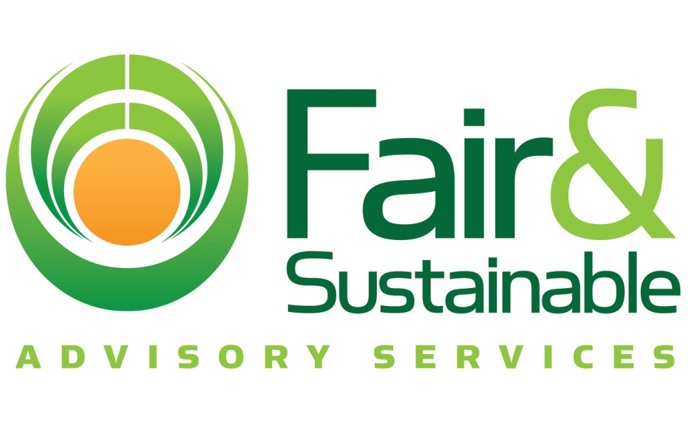 uitsnede fair and sustainable advisory services logo