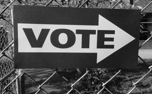 vote-661888_1280 grayscale